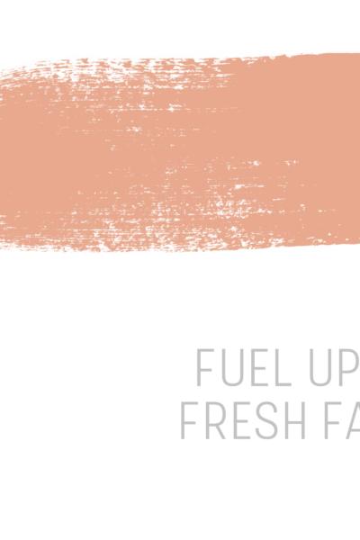 Fuel up on fresh faith