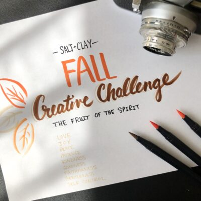 Fruit of the Spirit: Creative Challenge
