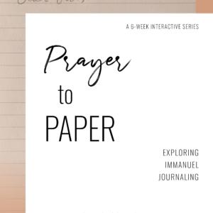 Prayer to Paper
