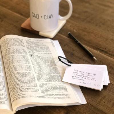 Scripture Memory – Verse #5