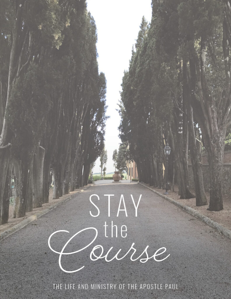 Stay the Course Women's Bible Study