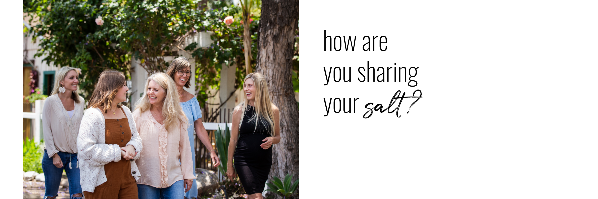 how are you sharing your salt?